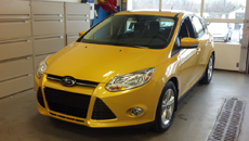 Paint  Protection  Film yellow  Sport